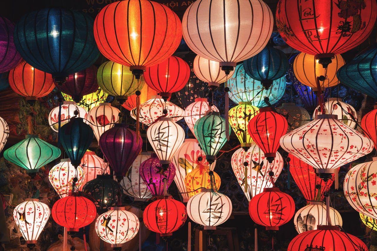 Chinese New Year colorful lanterns | Chinese lantern festival, Paper  lanterns, Chinese festival