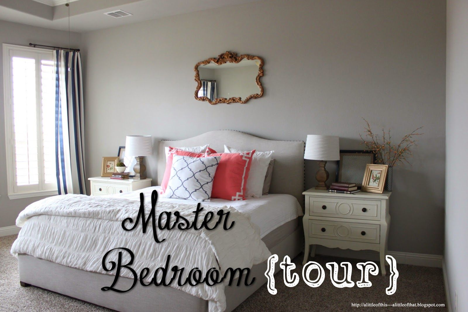 Master Bedroom {Tour}