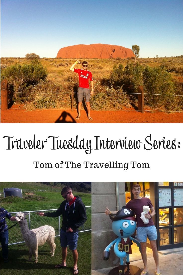 Interview with travel blogger Tom of the Travelling Tom. Tom talks about his travel start, inspirations, and what he takes on a trip.