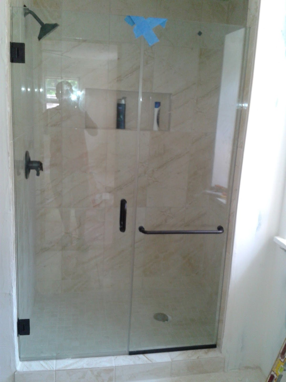 glass shower doors frameless | dfw shower glass, shower enclosure ...