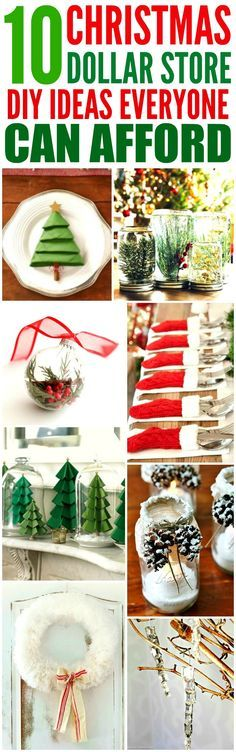 10 Dollar Store DIY Christmas Decorations that are Beyond Easy 10