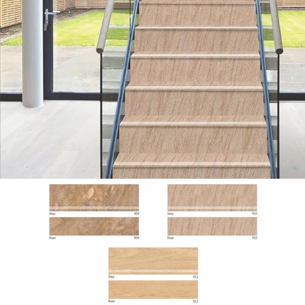 909 910 Step Riser Manufacturer Tile Steps Tile Stairs Outdoor Flooring