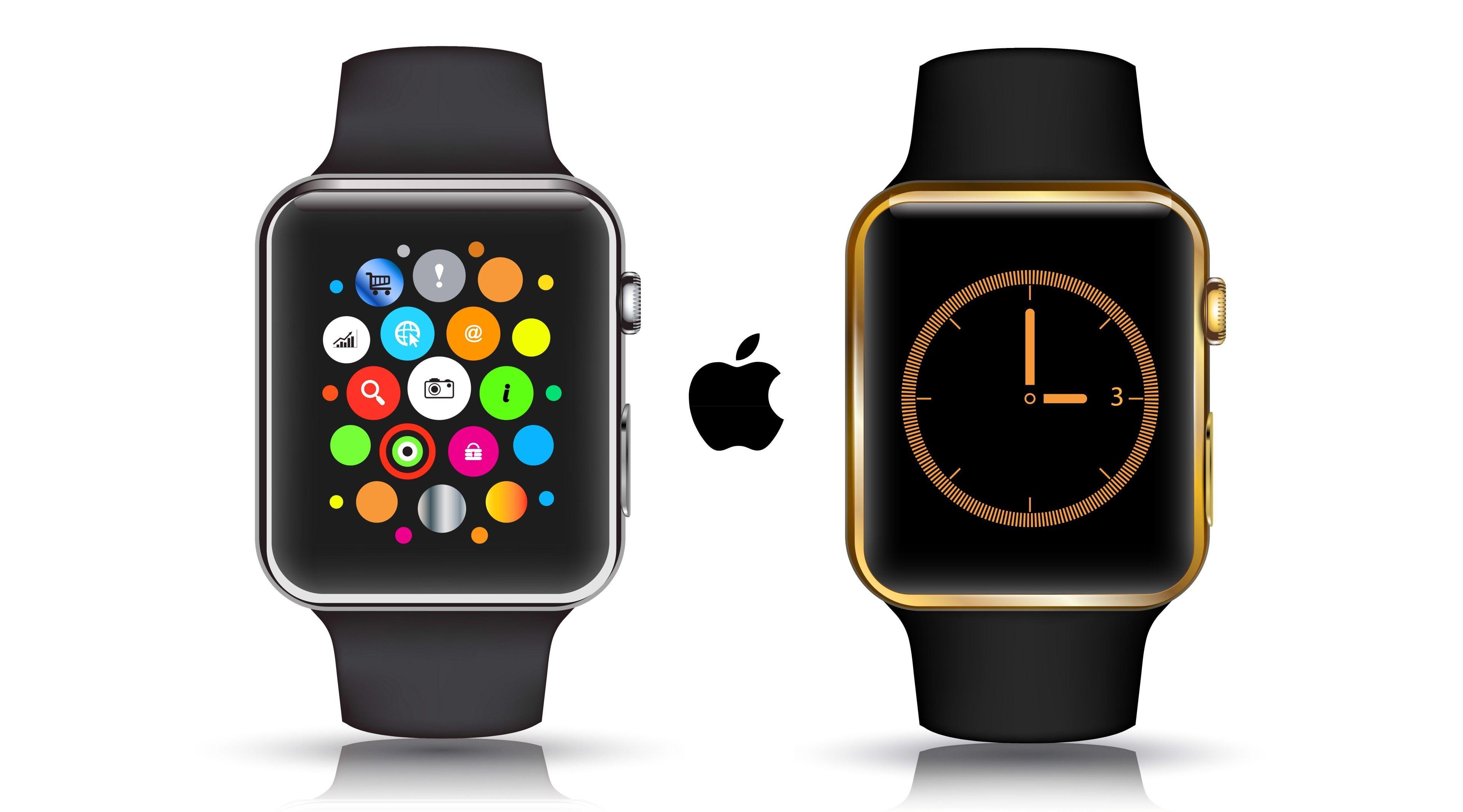 3840x2132 Apple Watch 4k Hd Background Wallpaper Apple Watch Free Apple Watch Apple Watch Series