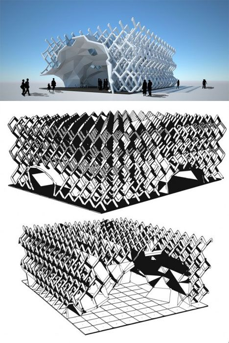 Algorithmic architecture 14 complex math based structures for Arquitectura parametrica pdf