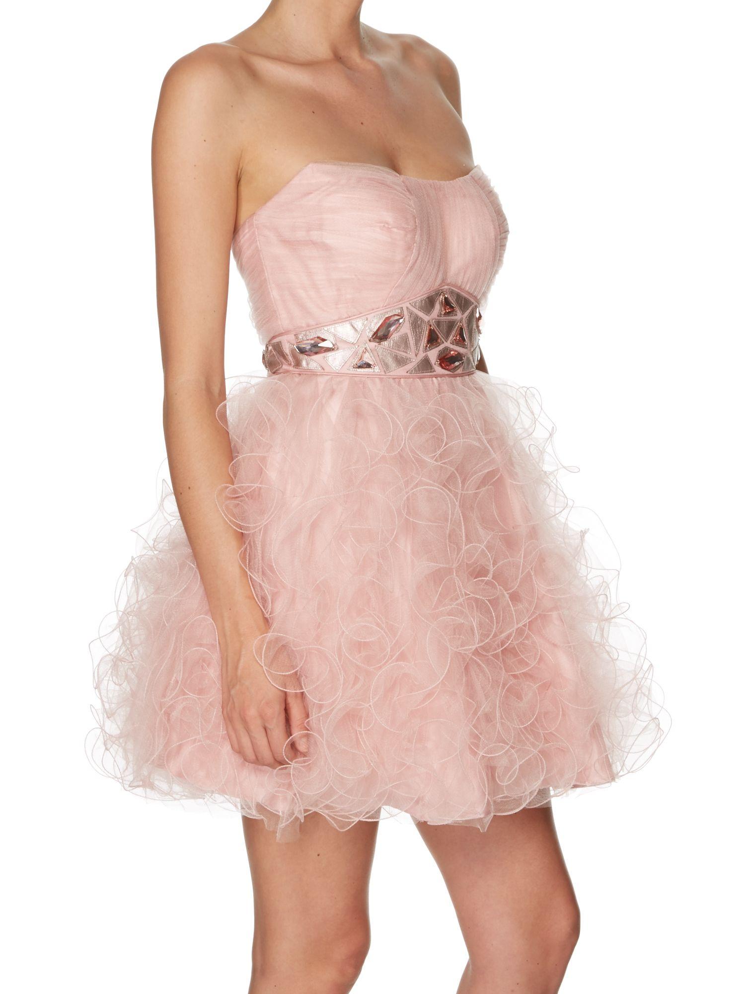 Tara Blush Prom Dress. Short tulle prom dress. Perfect Bar Mitzvah ...