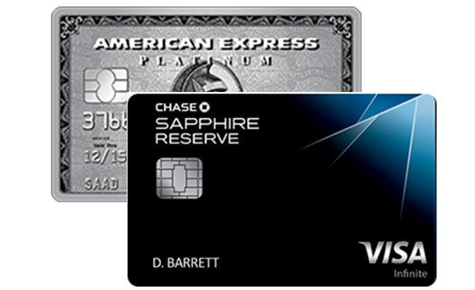chase sapphire reserved vs american express platinum travel in rh pinterest com