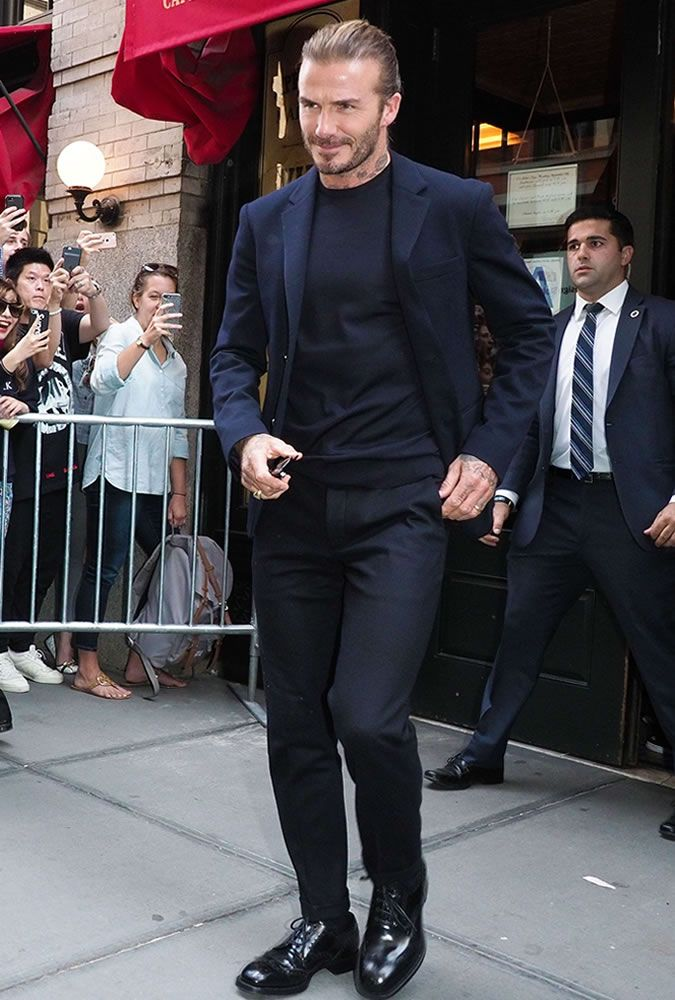 David Beckham | Outfit in 2019 | David Beckham, David ...  David Beckham |...