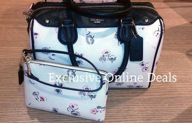 4e2bd6ce1e Coach Purse Handbag Satchel Wildflower Multi Mini Bennett Printed Canvas  F37491  Coach  SatchelCrossBody