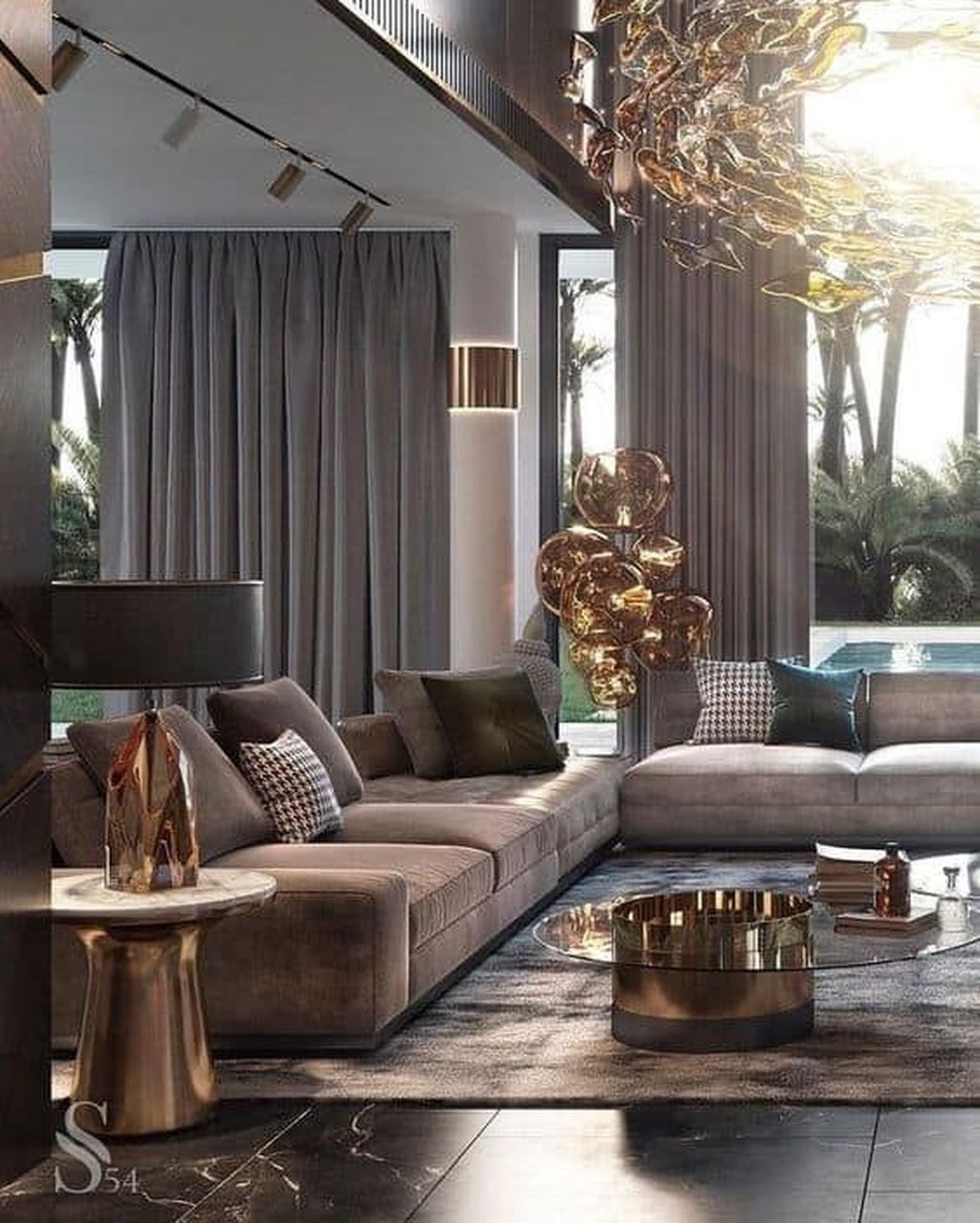 35 Admirable Modern Interior Design Ideas You Never Seen Before Luxury Living Room Luxury Living Room Design Interior Design Living Room