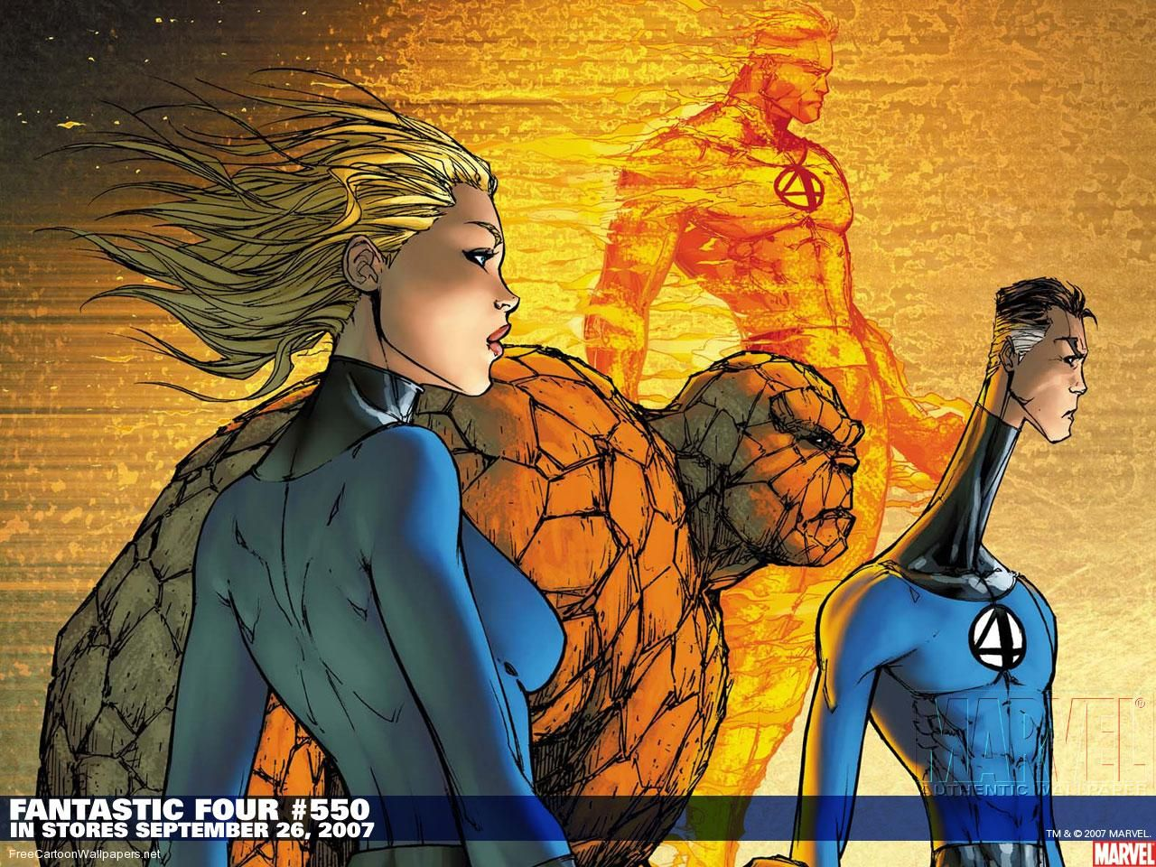 Fantastic Four 1 Fantastic Four 550 Wallpaper Captain America Wallpaper Marvel Wallpaper Marvel