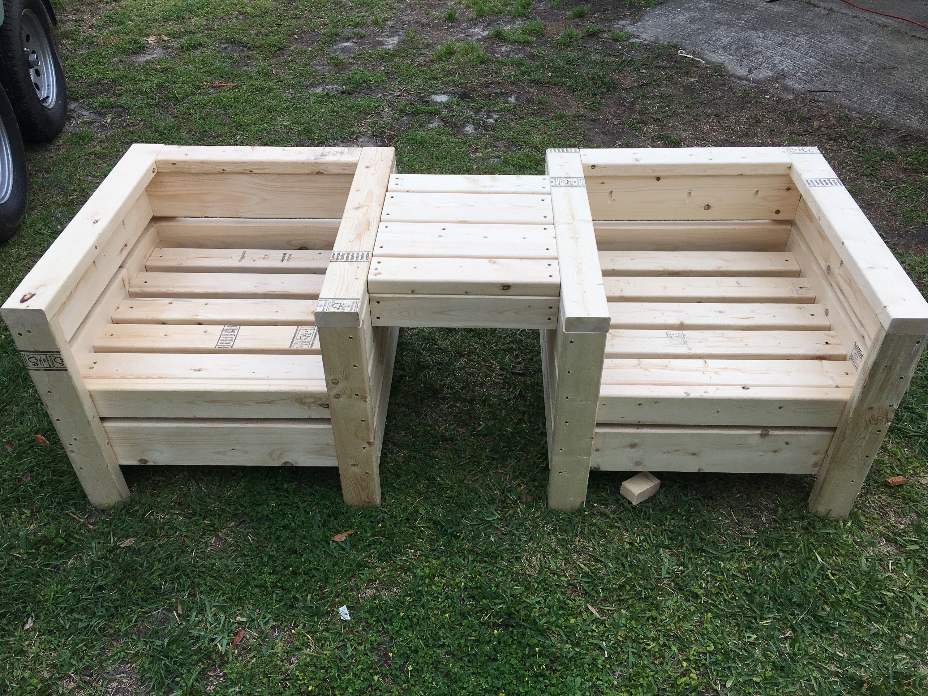 Custom Built Outdoor Chairs In 2018