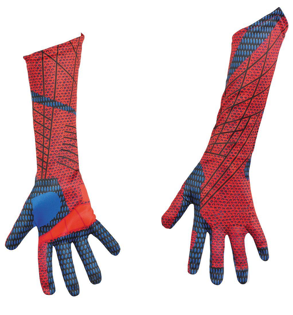 spiderman gloves top and bottom spider man modeling design rh pinterest com Batman Gloves Spider-Man Mask