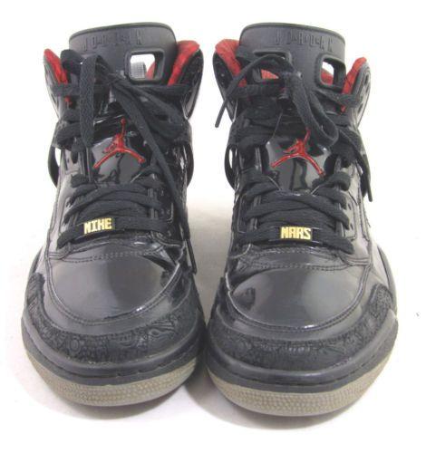 super popular f009a c75f6 Nike Air Jordan Mike Mars Spizike Stealth Black Varsity Red Shoe Size 10 5  RARE   eBay