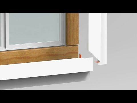 How To Trim A Window Build Out Amp Cap With Coil Part 2 Of 3 Youtube Trim Coil Windows Window Trim