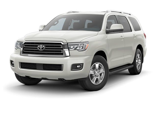 Toyota Large Suv >> 2018 Toyota Sequoia Suv Blizzard Pearl Crossing Over Toyota