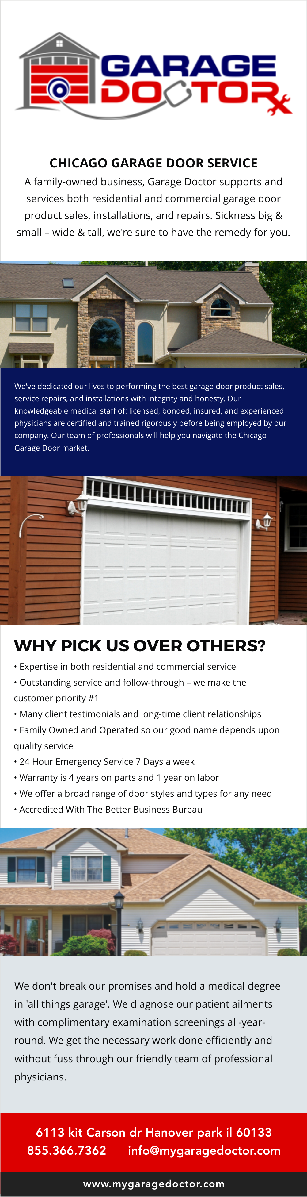 Garage Doctor, Inc. Is A Garage Door Repair And Installation Company That  Provides Service