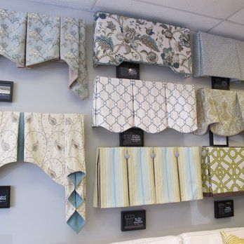 A variety of window treatment valances cornice boards for Kitchen cornice ideas
