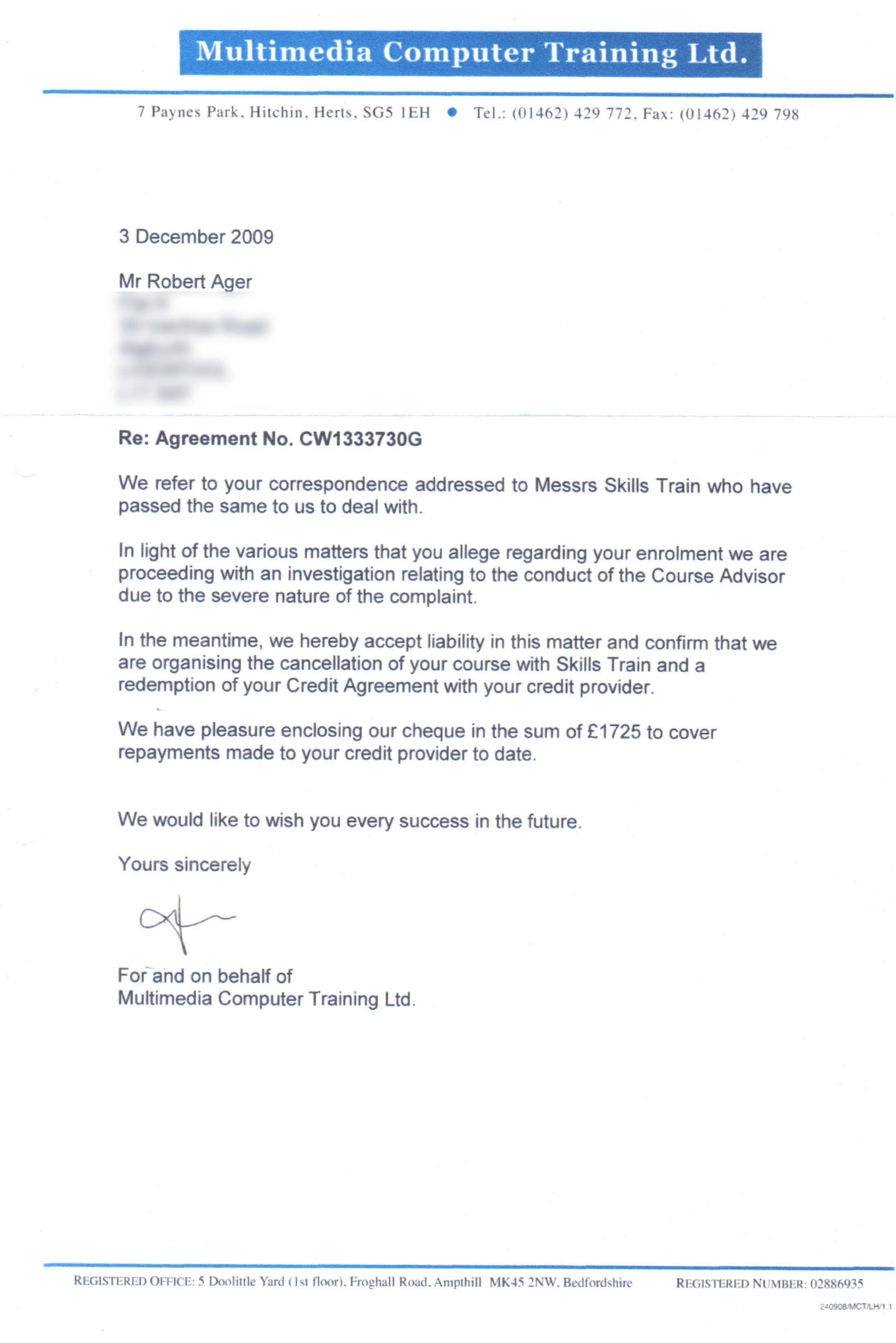 Metropolitan international schools limited information amp metropolitan international schools limited information amp documents irs refund letter template letters sample spiritdancerdesigns Image collections