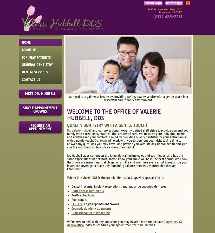#sesamewebdesign #sds #pacific #green #purple #sans #responsive #dental