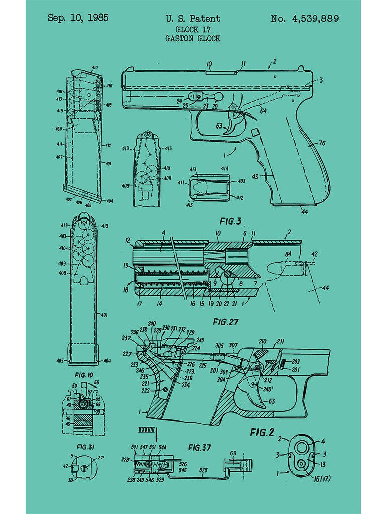 glock 17 handgun g glock 1985 firearms and weaponryglock 17 handgun g glock 1985