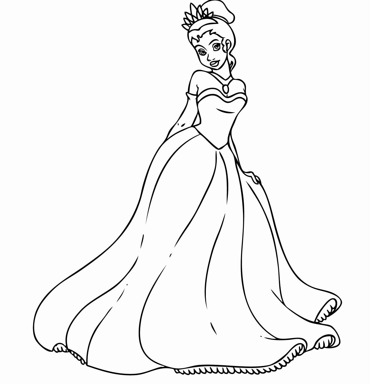 Printable Coloring Pages Princess Elegant Free Printable Princess Tiana Coloring In 2020 Disney Princess Coloring Pages Disney Princess Colors Princess Coloring Pages