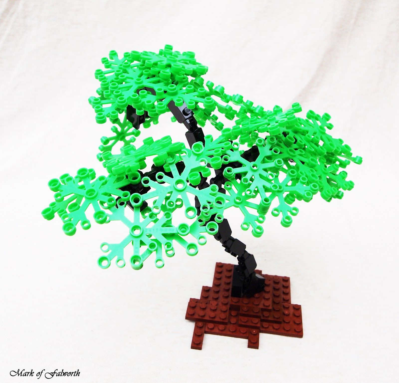 Great tree idea for my park pond plan lego tree for Lego garden pool