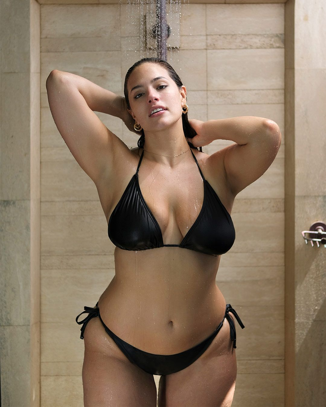 a52faa3c155 Shop the new Ashley Graham Essentials Collection for sexy must-have styles  like our Icon Black Bikini.