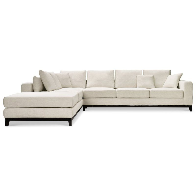 Kellan 98 5 Sectional With Images Sectional Light Grey