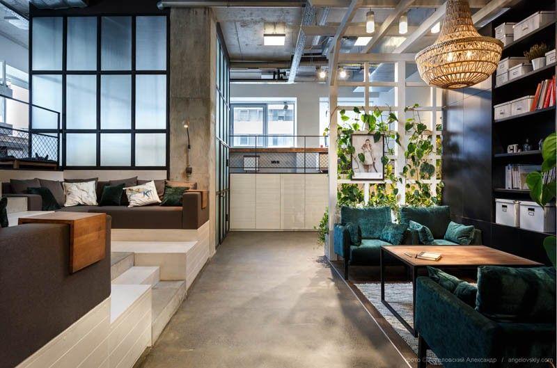 Dit is wat er gebeurt als interieurontwerpers hun eigen kantoor designen - Roomed