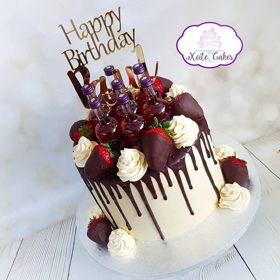 Enjoyable Pass The Courvoisier A Drip Cake For Pauls Birthday In Moist Personalised Birthday Cards Beptaeletsinfo