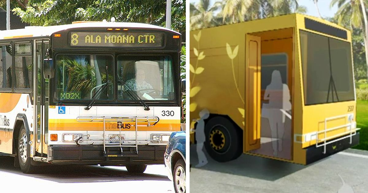 Hawaii Will Turn Old City Buses Into Mobile Homeless Shelters With Showers Homeless Shelter Homeless Bus