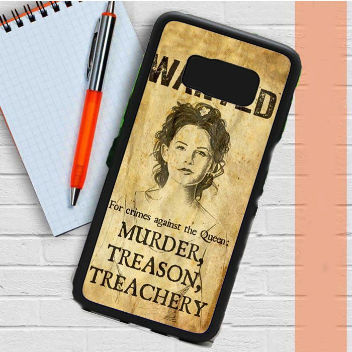 Wanted Chinderesl For Crimes Against The Queen Samsung Galaxy S8 Case Dewantary