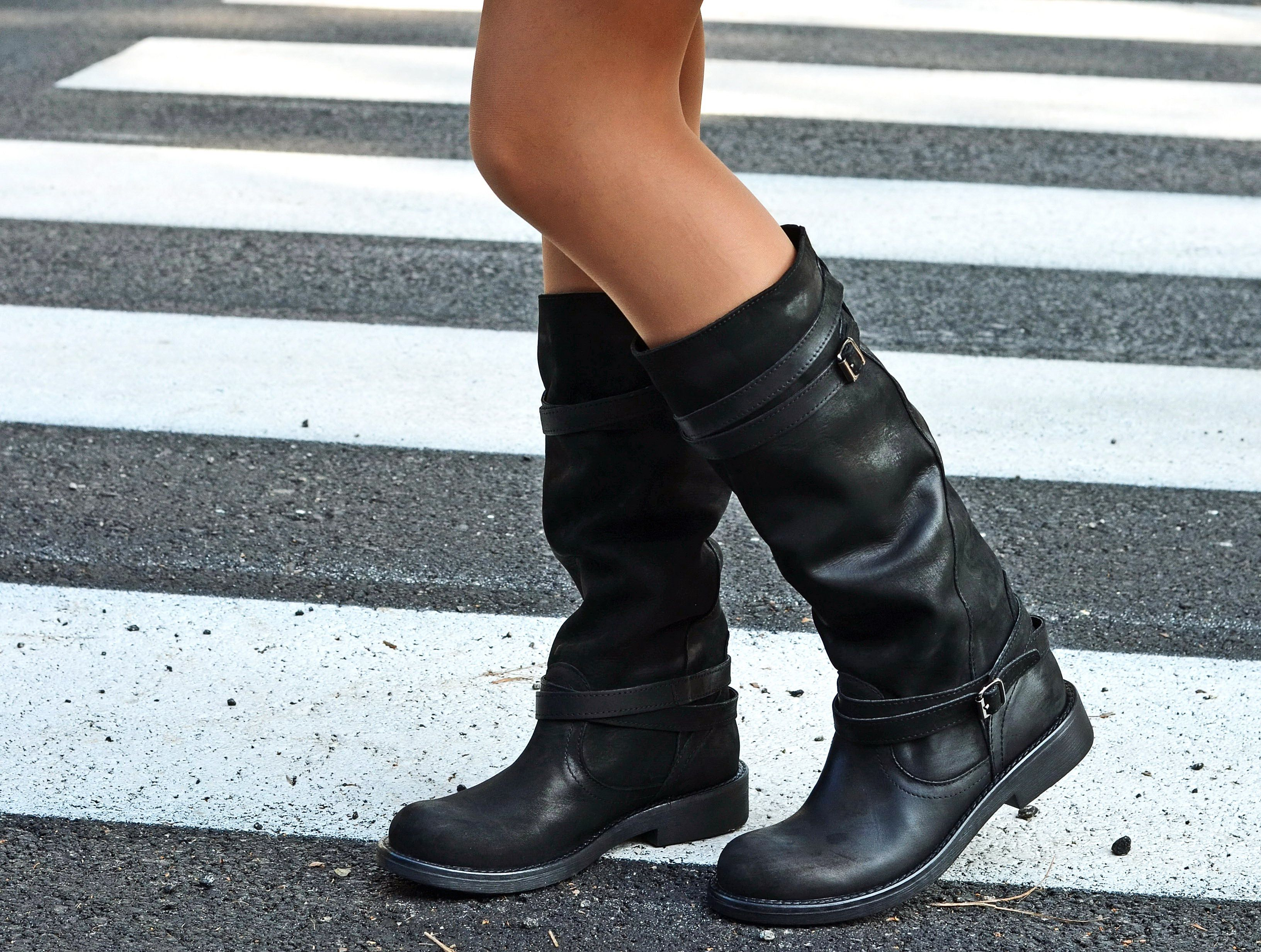 stivali per donne in polpaccio grosso