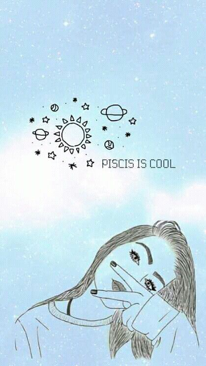 Moon In Pisces Luckycharm Co Sign Cute Wallpaper Backgrounds Cute Wallpapers Bad Girl Wallpaper