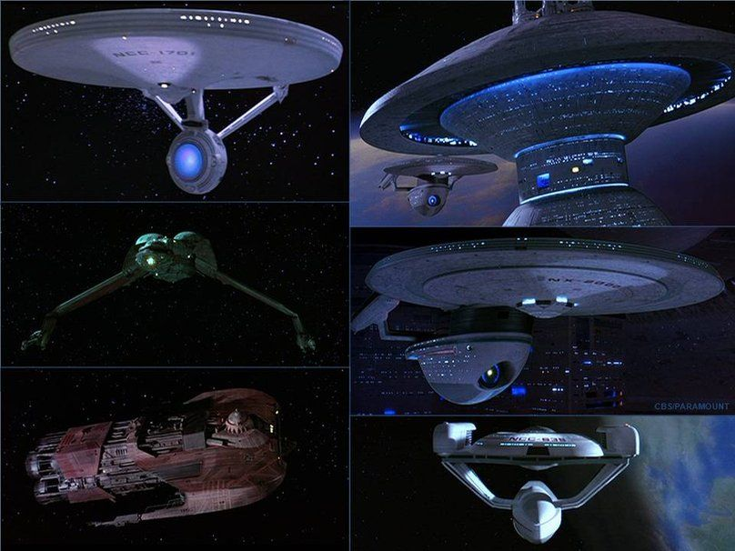 Starships of Star Trek III: The Search For Spock