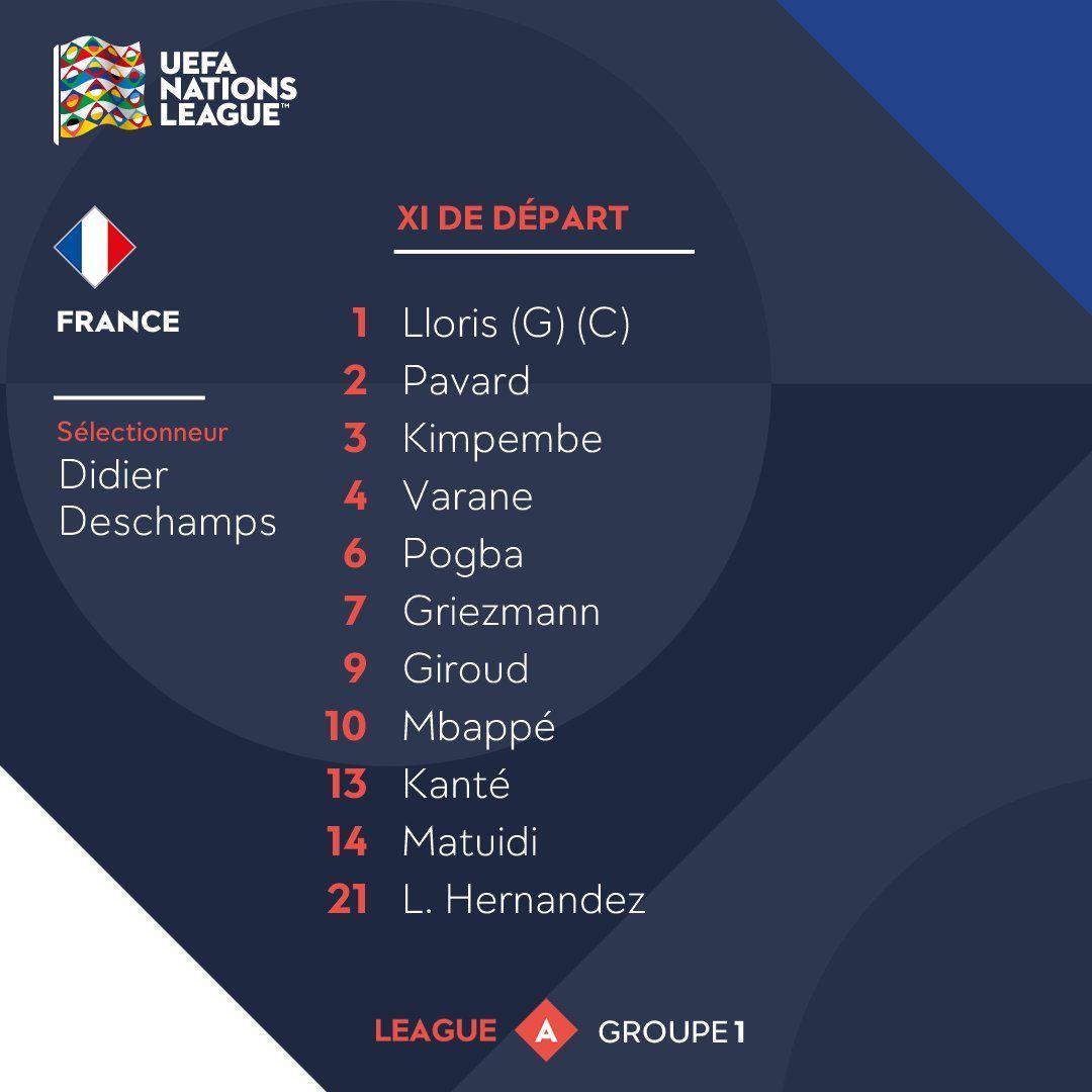 France Vs Germany Live Stream Uefa Nations League France Streaming Germany