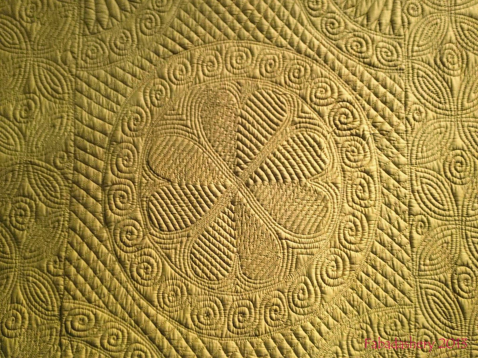Fabadashery: Welsh Wholecloth Quilts - Welsh Quilt Centre Exhibition, Lampeter 2013