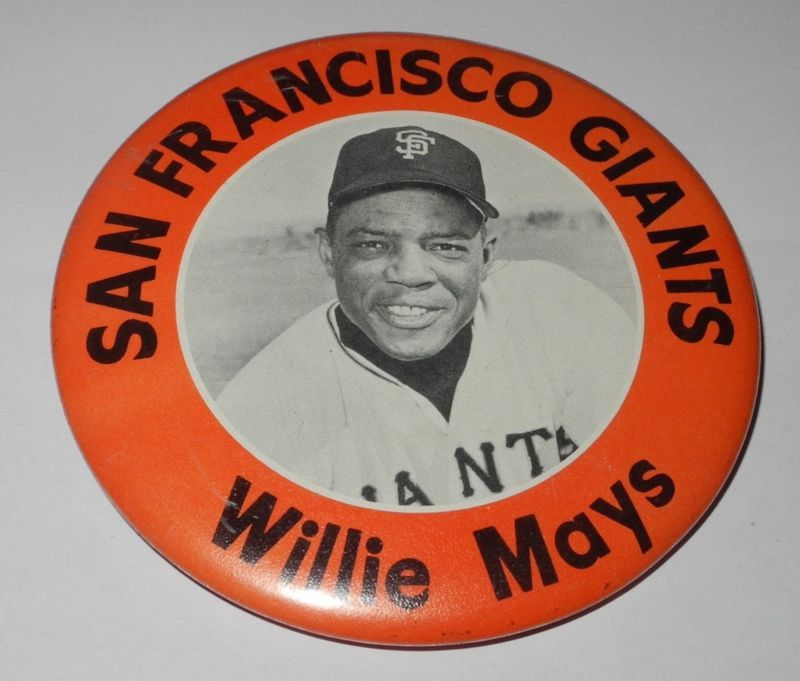 ee753d207a2ce4 vintage san francisco giants pin | Rare 1960's Pm10 Baseball Pin/coin Willie  Mays San Francisco Giants .