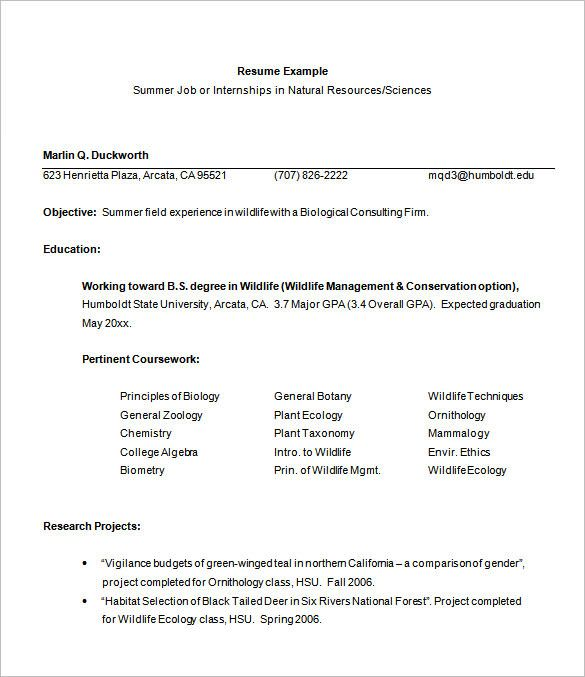 Resume High School Students template Pinterest Sample resume