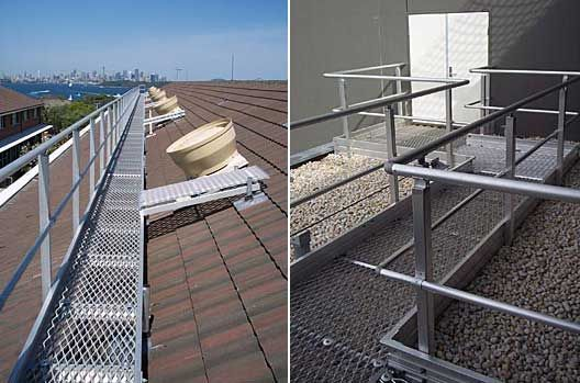 Roof Access, Grating and Walkways from Ullrich Aluminium