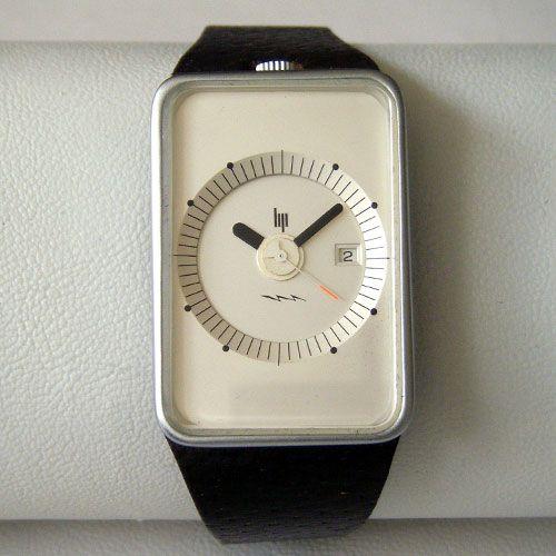 Roger Tallon Frigo watch by Lip, 1974 vintage design | TSOTA