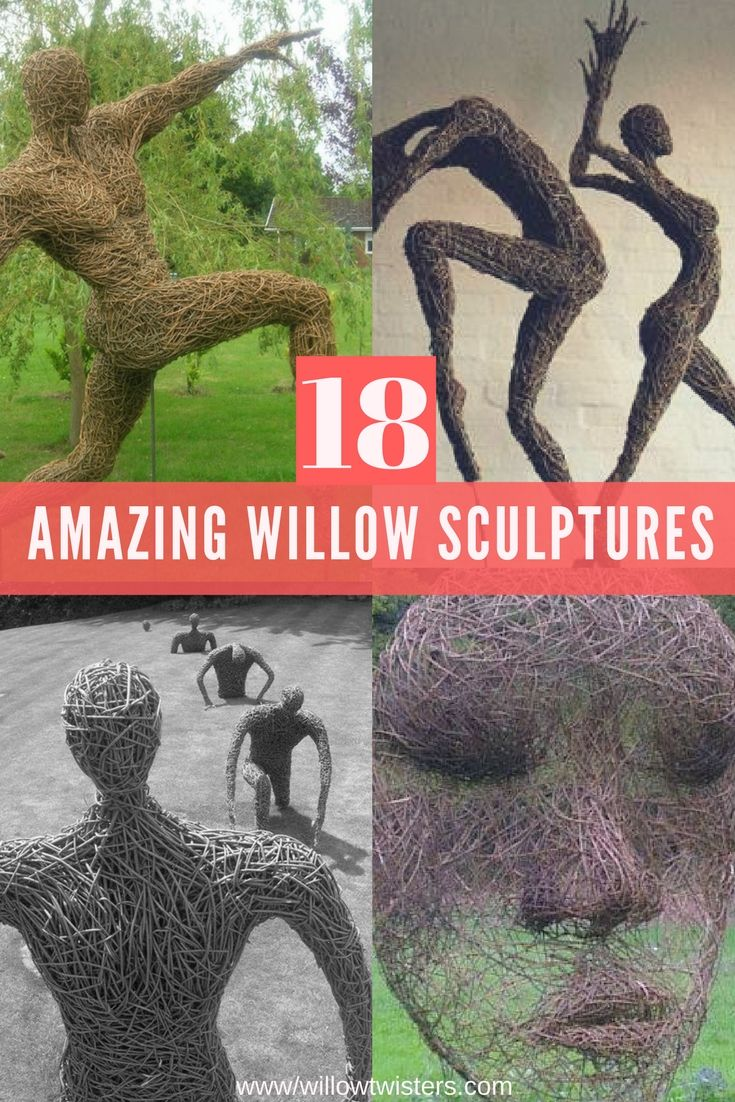 View a gallery of 18 beautiful hand woven willow sculptures ...