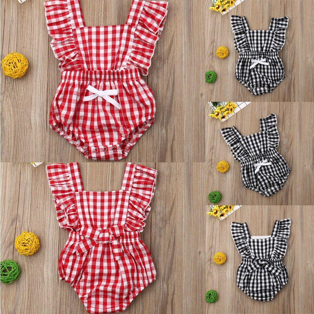 aae41cc7d255 2019 Newborn Infant Baby Boy Girl Romper Bodysuit Jumpsuit Clothes Outfits  Lots  fashion  clothing