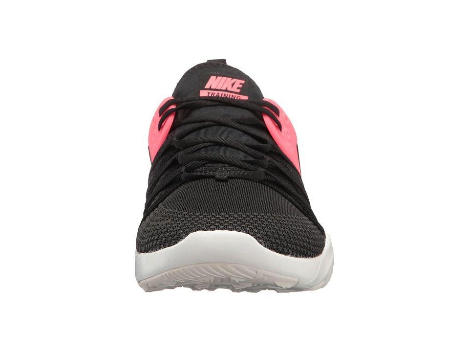 bb12fac9a693 Nike Free TR 7 Women s Cross Training Shoes Black Black Solar Red Summit