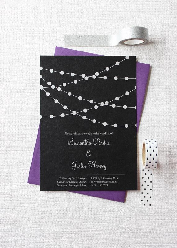 When to send out wedding invitations nz