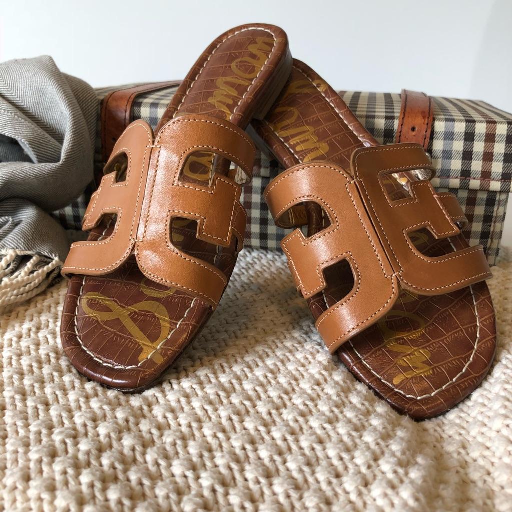Sam Edelman Bay Slide Leather Sandal