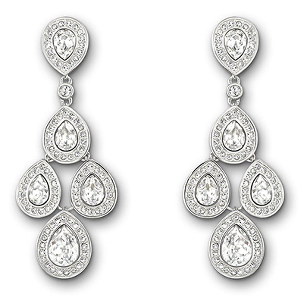 Swarovski crystal Sensation drop earrings | Jewelry ...