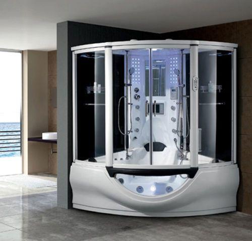 STEAM ROOM JACUZZI AIR SPA BATH SHOWER TV RADIO HOT TUB WHIRLPOOL