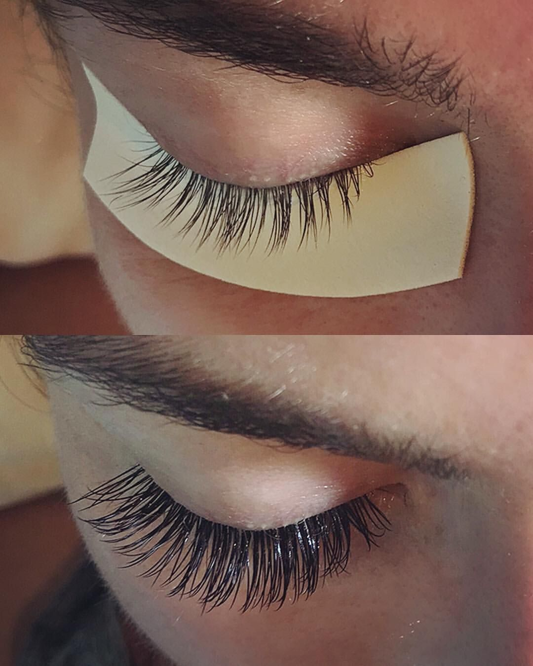 7194705eda1 A classic set before and after from yesterday • • Classic set D curl .20 mm  9-14 • • #classiclashes #naturallook #eyelashextensions…