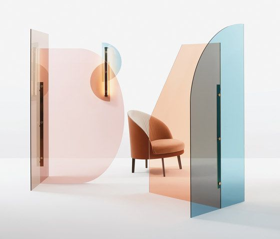Perspex Inserts At Home As Space Dividers Paravent Paravent